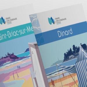 Carte, cartographie, régie publicitaire pour beaussais, lancieux, saint-lunaire, saint-briac, dinard par Indigo communication à Saint-Malo